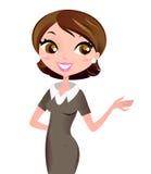 Femme de carrière d'affaires Photos stock