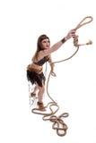 Femme de chaman Photographie stock libre de droits