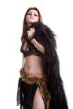 Femme de chaman Images libres de droits
