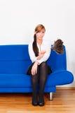 Femme de charge Photographie stock libre de droits