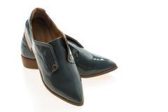 femme de chaussures en cuir photos libres de droits