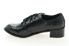femme de chaussures en cuir photo stock