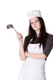 Femme de chef images stock