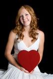 Femme de coeur d'amour Photos libres de droits