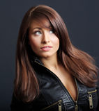 femme de coiffure de charme Photos libres de droits