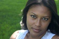 Femme de couleur photo stock