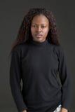 Femme de couleur Image libre de droits