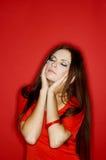 Femme de couleurs Photographie stock libre de droits