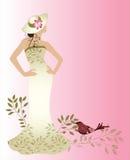 Femme de couture Photo libre de droits