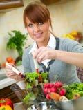 femme de cuisine Image libre de droits