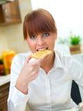 femme de cuisine Images libres de droits