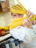femme de cuisine Photo libre de droits