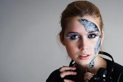 Femme de Cyber photos libres de droits