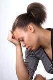 Femme de dépression Photos stock