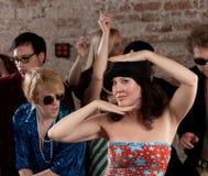Femme de danse Images stock