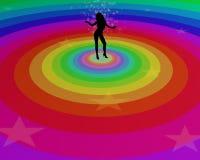 Femme de danse Photographie stock libre de droits
