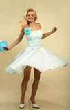 Femme de danse. photos stock