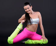 Femme de danse Photos stock