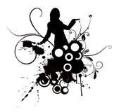 Femme de danse Image stock