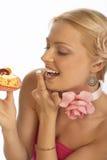 Femme de dent douce photo libre de droits