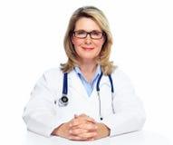 Femme de docteur. photographie stock