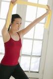 femme de exercice asiatique Image libre de droits