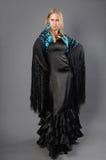 Femme de Flamenko Photos stock