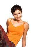 Femme de forme physique. Photo stock