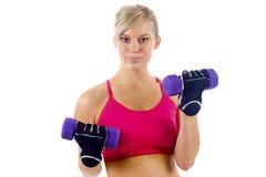 Femme de forme physique Photo stock