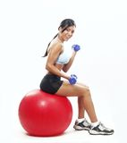 Femme de forme physique. photos stock