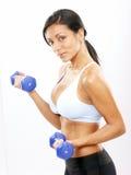 Femme de forme physique. Image libre de droits