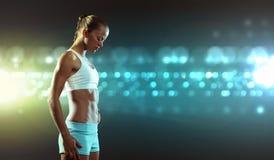 Femme de forme physique Photos stock