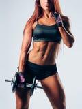 Femme de forme physique Photos libres de droits
