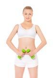 Femme de forme physique de sport Photo libre de droits