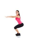 Femme de forme physique de sport Images libres de droits