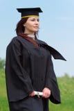femme de graduation Photographie stock