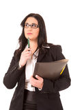 Femme de grande entreprise Image stock