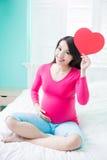 Femme de grossesse de beauté Photo libre de droits