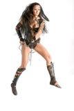 Femme de guerrier - Amazone Photographie stock libre de droits