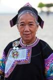 Femme de Hani, Chine Photographie stock libre de droits
