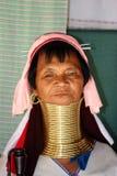 Femme de Kayan Photo stock