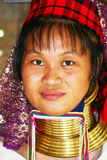 Femme de Kayan Images stock