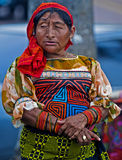 Femme de Kuna Photographie stock libre de droits