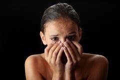 Femme de l'adolescence humide Photo libre de droits