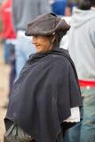 Femme de l'ethnie de Métis dans Otavalo, Equateur Photographie stock libre de droits