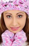 Femme de l'hiver Image stock