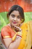 Femme de la Communauté bengali Photographie stock libre de droits