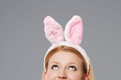 Femme de lapin Images libres de droits
