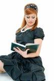 femme de livre image libre de droits