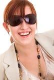 femme de lunettes de soleil de mode Photos libres de droits